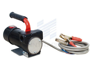 China 12Volt  DC Electric Diesel Transfer Pump With Carrying Handle 17psi 1.2bar supplier