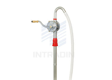 China Aluminum Rotary Fuel Hand Pump 30 & 60 Liter  For Workshop , Marine supplier