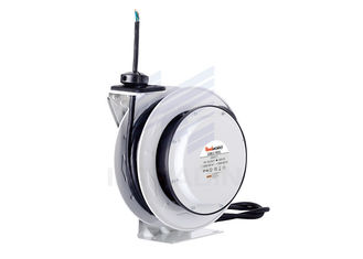 Waterproof 380V 5 Core Electric Steel Cable Reel With Baked - On Powder Coat Finish