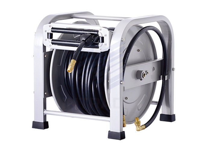 Spring Driven Hose Reel For Air And, Heavy Duty Garden Hose Reel