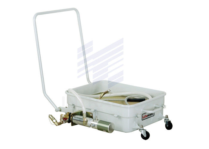 17gal Waste Oil Drain Cart For Vehicle With 1 / 1 Oil Pump 1