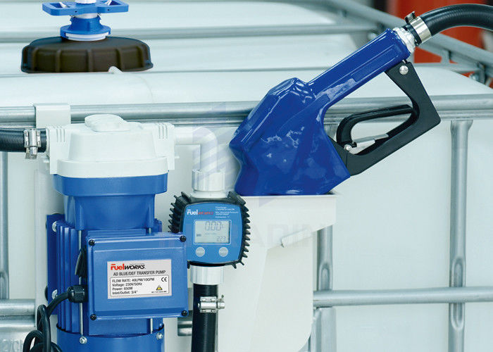 Wall Mounted Plate Urea Transfer Pump With Steel Automatic Nozzle