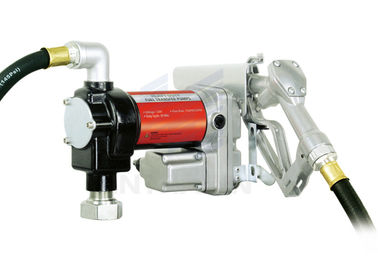 China 20GPM/76LPM Heavy Duty Fuel Transfer Pump Kits Self-priming Vane design for tank or barrel mounting distributor