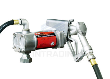 China Steel 12V Gasoline Fuel Transfer Pump With 15GPM Flow Rate / Electric Gear Pump distributor