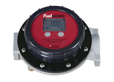 "China Accurate 1"" Inlet And Outlet  Fuel Oil Flow Meters with LCD Display , Face Adjusted 360º distributor"