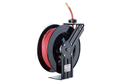 Spring driven full flow solid swivel joint Retractable Water Hose Reel SBR Rubber