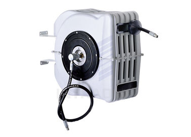 China 10 - 15m Air And Water Hose Reel With Adjustable Hose Stopper Mounted On Wall , Ceiling distributor