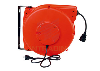 China Oil Proof Heavy Duty Retractable Electric Cable Reels Length 10m - 15m Cable distributor